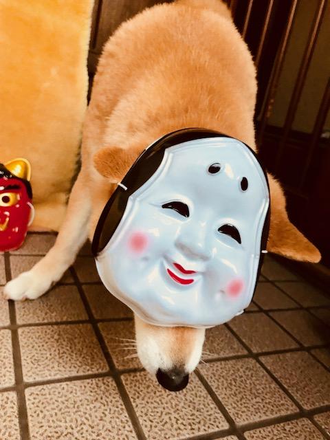 2018節分まるこオカメ