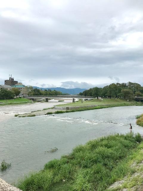 京都 賀茂川