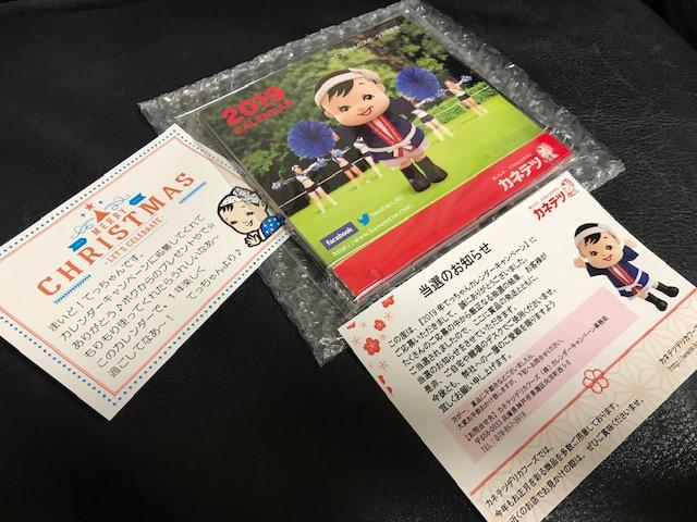 てっちゃんカレンダー2019~てっちゃんのスポーツ大好き編~