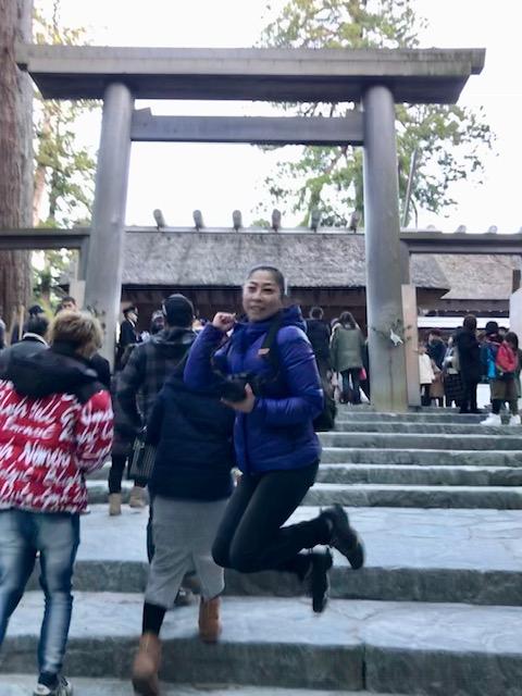 2019チームまるこノルディックウォーキングのお伊勢詣りいってきました☆