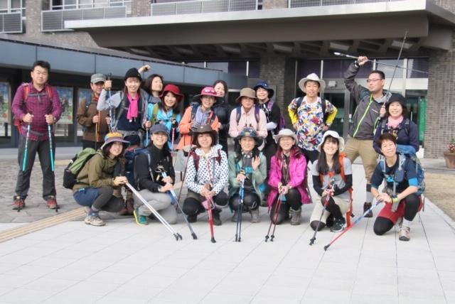 11月4日(振休・月)まるこ再度公園にノルディックハイキング+紅葉の茶屋さんスキヤキ!イベント