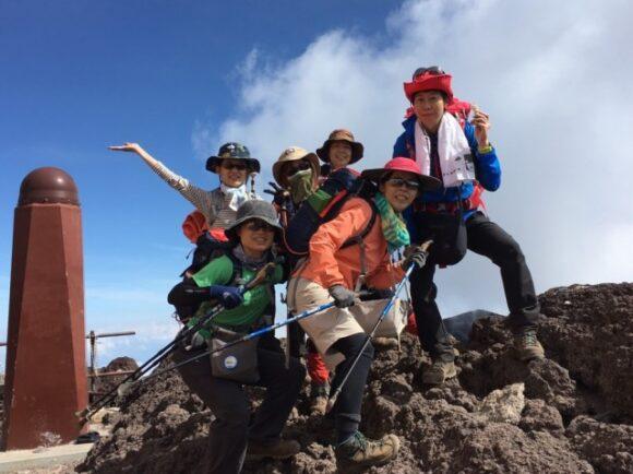 令和元年、山の日まるこ愉快な登山部遠征 富士山へGO