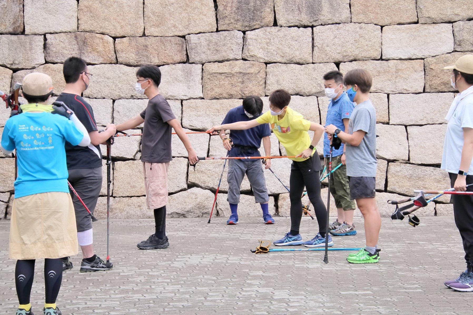6月28日(日)チームまるこNWリスタートイベントは大阪城から