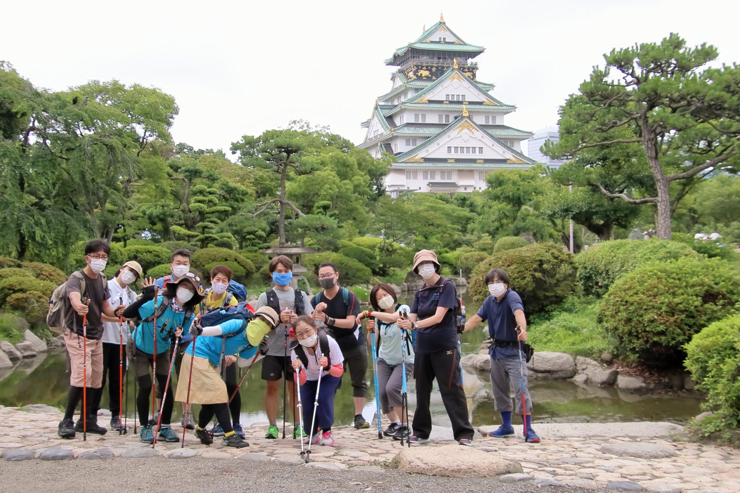 2020年6月28日(日)チームまるこNWリスタートイベントは大阪城から☆