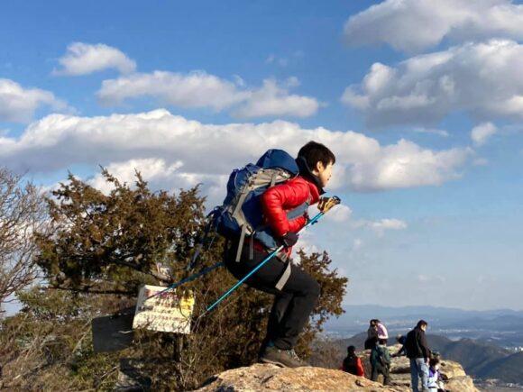 \2021新春ノルハイレポ/播磨アルプス~生石神社へノルディックウォーキング☆