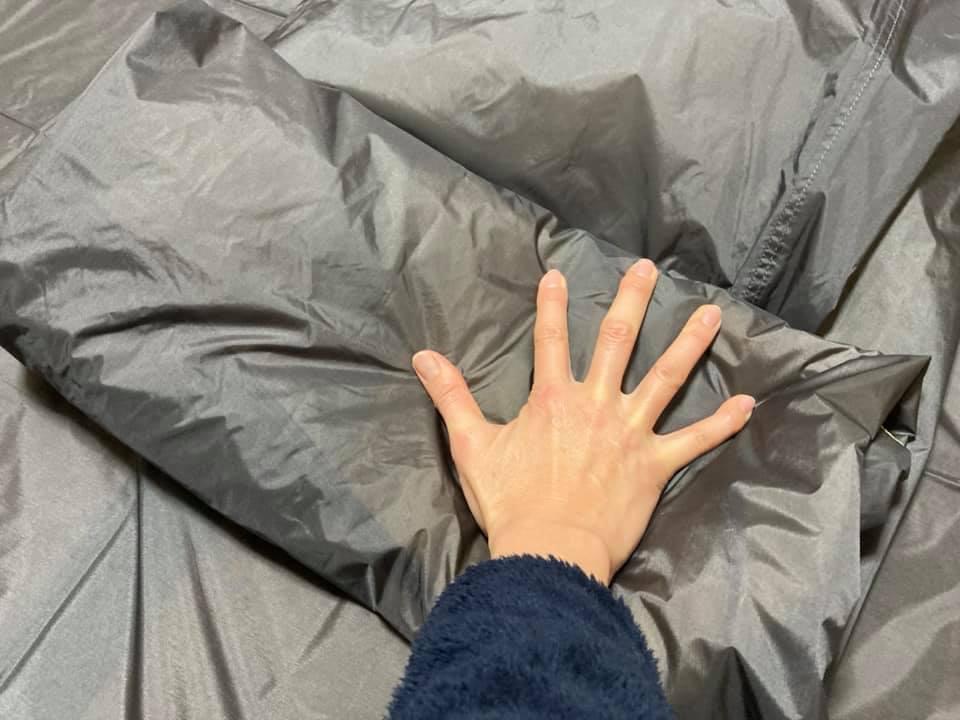 テント撤収のこと、きちんとたためるキャンパーになろう!